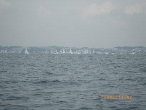 ヨットの大会