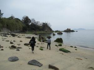 周防大島の海岸